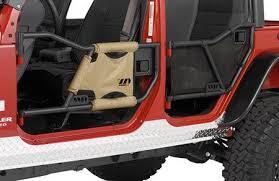 Jeep Wrangler Warrior Tube Door Mesh Cover