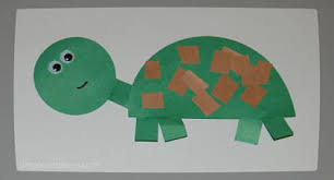 Turtle Craft Opt Materials Green Construction Paper