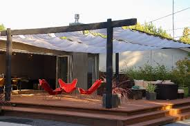 Patio Sun Shades – Solid Hardwood Shade Pillar Black Wrought
