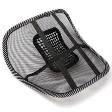 Massage Pads For Chairs Australia by New Black Car Seat Chair Massage Back Lumbar Support Mesh