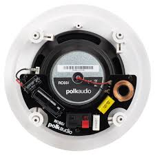 Polk Audio Ceiling Speakers Sc60 by Polk Audio Rc60i Round In Ceiling Speaker With A 6 1 2 Inch