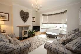 Country Living Room Ideas Colors by Cosy Contemporary Country Living Room With Tartan Check Chairs