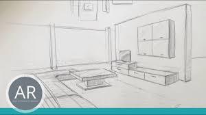 zeichnen lernen akadmie ruhr tutorials räumliches zeichnen raum in perspektive