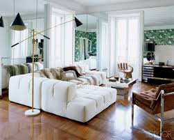 expensive mahogany floor for modern living room decorating ideas