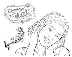 Sweet Fun Kit De Imprimibles Violetta Gratuito