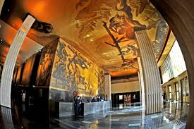 Diego Rivera Rockefeller Mural by Rockefeller Center