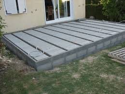 faire une dalle exterieur charmant faire une dalle pour piscine 5 oregistro terrasse