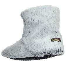 snookiz microwave heated slippers short booties for women by goso