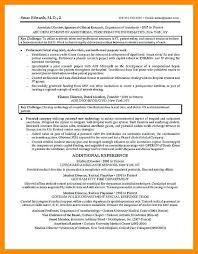 Medical Science Liaison Resume Scientific Examples Curriculum Vitae