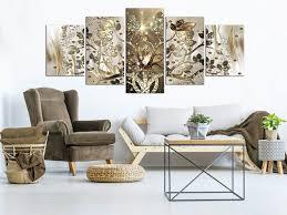 wandbilder gustav klimt baum des lebens leinwand bilder wohnzimmer 225x100cm