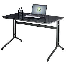 Corner Desk Ikea Ebay by Black Glass Computer Desk Ebay Tag Winsome Small Black Glass