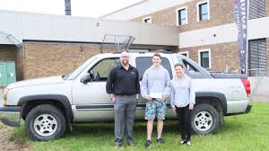 Student Plus Near-perfect Attendance Equals Free Truck At Manitoba ...