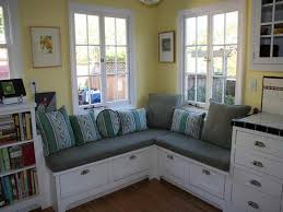 Kitchen Booth Seating Ideas by Simple Kitchen Banquette Seating With Storage House Design And