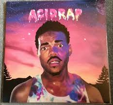 The Album Cover Features Art From Chance Rappers Official Mixtape And Has Tracklisting For Two Double Sided LPs On Back