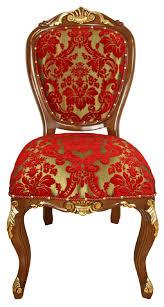 casa padrino luxus barock esszimmer stuhl rot gold braun antik look 54 x 57 x h 107 cm luxus hotel möbel made in italy