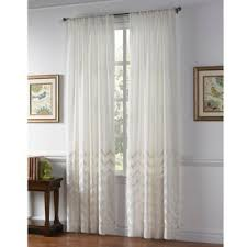 Bed Bath And Beyond Curtain Rod Rings by Buy Curtain Panels Sheer From Bed Bath U0026 Beyond