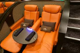 Movie Theatre With Reclining Chairs Nyc by Luxury Dine In Theater Opens In Seaport With 29 U0027premium Plus