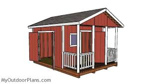 12x12 Shed Plans Pdf by Free 12x12 Shed With Porch Plans Diy Plans Pinterest Porch
