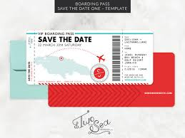Amaze Your Guests With This Unique Set Of Invitation Templates Truly Inspired By Flight Boarding Pass Turn Ceremony Into A Well Remembered Event
