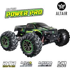 100 Monster Truck Remote Control Altair Power Pro RC OffRoad 4x4 Electric