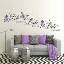 wandtattoo schlafzimmer lila caseconrad