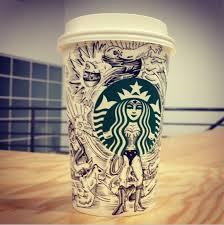 Starbucks Cup Draw