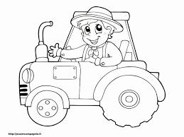 Coloriage De Tracteur Frais Sélection De Dessins De Coloriage