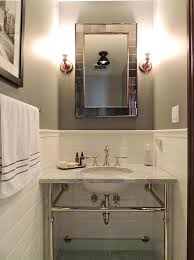 Half Bathroom Ideas For Small Spaces by Half Tiled Bathroom Walls Design Ideas