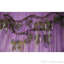 Garland Flowers Artificial Wisteria Withered Vine Wedding