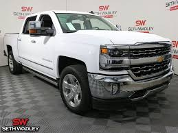 Used 2017 Chevy Silverado 1500 LTZ 4X4 Truck For Sale In Pauls ...