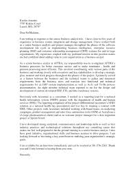 Business Analyst Cover Letter & plete Guide Example