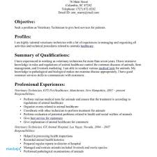 Veterinary Assistant Resume Examples Templates Technician Fred Resumes Example In
