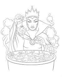Unique Disney Villain Coloring Pages Villains Queen Exceptional Maleficent