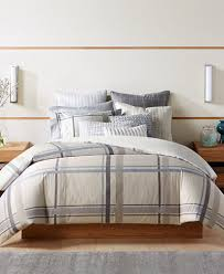 Hotel Collection Modern Plaid Duvet Covers Created for Macy s