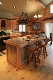 Log Cabin Kitchen Cabinet Ideas by Kitchen Room Cabin Life Large Small On Log Homes Log Cabins Log