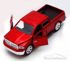 Dodge Ram 1500 Pickup Truck, Red - Jada Toys Just Trucks 97015 - 1 ...