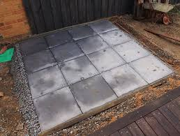 Installing 12x12 Patio Pavers by Laying 12x12 Pavers Interesting Lay In Mortar For Stepping Stone