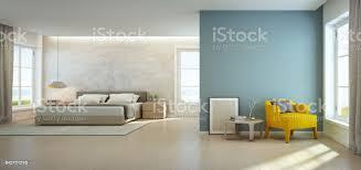meer blick schlafzimmer und wohnzimmer in luxusstrandhaus moderne einrichtung des ferienhauses stockfoto und mehr bilder architektur