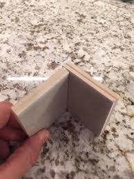subway tile backsplash inside corners