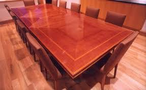 Makore Mahogany Dining Table