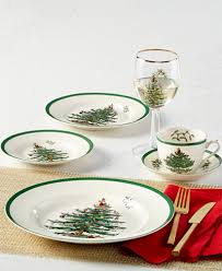 Spode Christmas Tree Mug And Coaster Set by Spode Christmas Tree Dinnerware Collection Fine China Macy U0027s