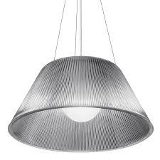 100 Phillipe Stark Flos Romeo Moon S2 Suspension Light Philippe Starck Panik Design