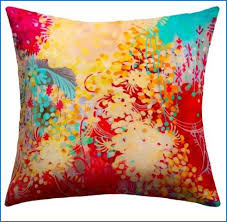 Bohemian Throw Pillows Awesome Young Outdoor Pillow Fabric Is Water And Mildew
