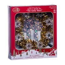 Christmas Tree Tinsel Icicles by Retro Tinsel Christmas Tree Topper Retrofestive Ca
