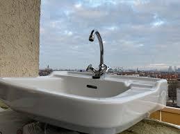 original 50er jahre waschtisch retro für badezimmer