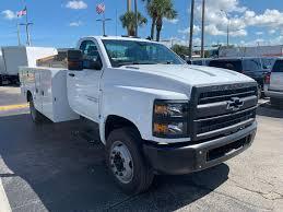 100 Medium Duty Trucks For Sale 2019 Silverado Regular Cab DRW 4x2 Knapheide Standard Service Body Stock KH333813
