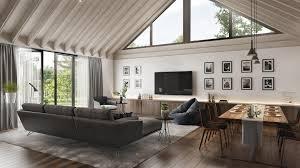 100 Home Design Project Living Room CGI For A House Presentation ArchiCGI