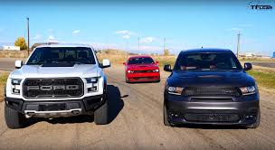 Dodge Durango SRT Takes On Ford F-150 Raptor And Challenger SRT ... 2019 Dodge Rebel Durango Specs And Review Ram Tuff Truck Clark County Fair 2015 Youtube Mods Style The Daily Drive Consumer Guide Filedodge Brothers New To Him 44515825jpg This Srt Muscle Concept Is All We Ever Wanted Irongate Residents Among First Attack 416 Fire Srt Fresh 2017 Charger Dodge 2018 Truck 4dr Rwd Sxt At Landers Serving Little Chicago Auto Show Mopar Enhances Chrysler Recall Aspen 1500 Dakota 2005 Dude Top Speed Body On Frame Mini Mini Pickup Truck Budget Track