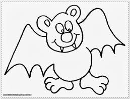 Download Coloring Pages Halloween Bats Bat Black Page