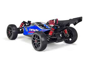 ARRMA TYPHON BLX 1/8 Scale 4WD Electric Speed Buggy R/C Car ...